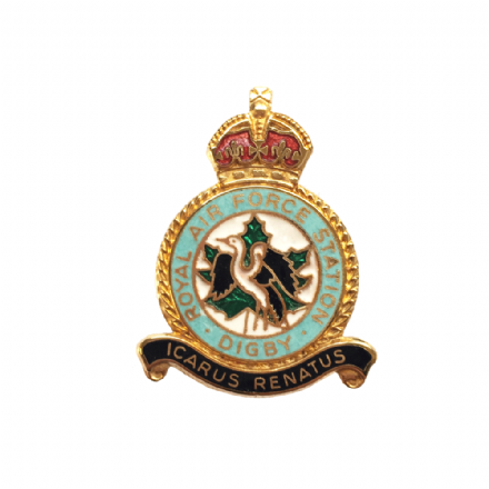 Royal Air Force RAF Digby Lapel Badge